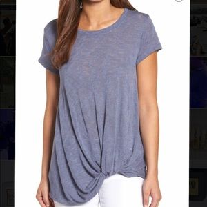 Bobeau tee with twist